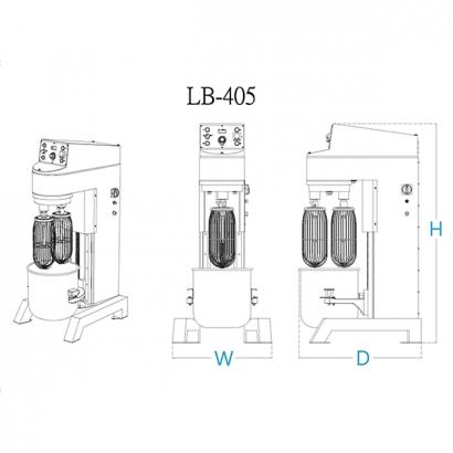 雙軸攪拌機