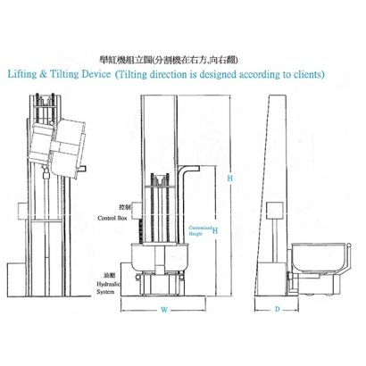 L-204B Lifting & Tilting Device