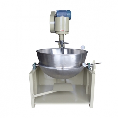 LB-2.0-1-D Gas Type of Heat Transfer Oil Cooking Mixer