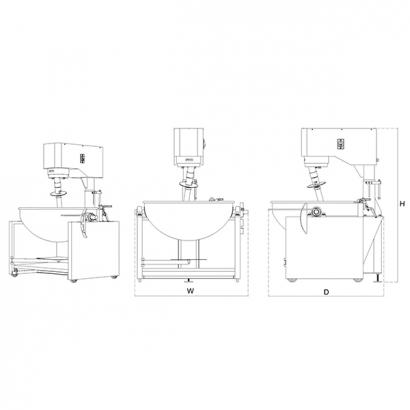 LB-2.0-1-D Heat Mixer