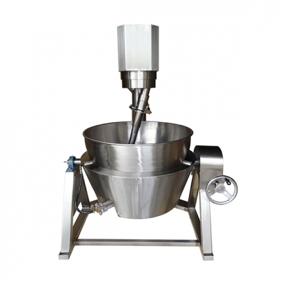 Gas Heated Cooking Mixer – Bowl & Stove House Joined Tilting Type