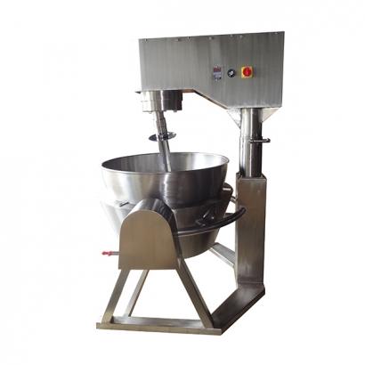 雙傾式瓦斯加熱炒食機