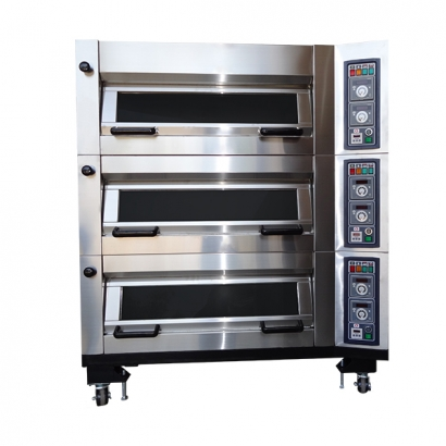 LBG-U208-1 Flip-up Gas Oven (4 Trays / Deck)
