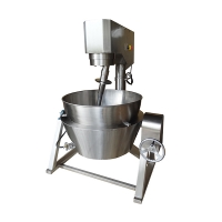 LB-2.4-3-D Electric Type of Heat Transfer Oil Cooking Mixer