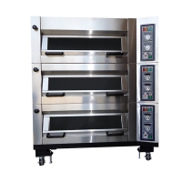 LBG-U224 Flip-up Gas Oven (2 Trays / Deck)